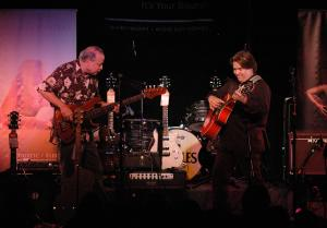 Picking with amazing fingerstyle guitarist Doyle Dykes