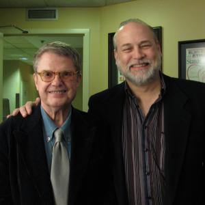 At the Ryman Auditorium with the late great Charlie Haden, one of the greatest string bass players of all time, before Charlie's performance at the Grand Ole Opry. A night to remember...