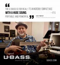 Dave Pomeroy Kala U-Bass ad