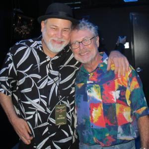 """At the Franklin Theater after a Memphis Boys show with legendary bassist David Hood from Muscle Shoals, who has played on some of the greatest records ever, like the Staple Singers"""" """"I'll Take You There."""" A funky man who is as humble as he is cool."""