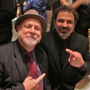 In NYC with percussionist Sam Bacco, also a member of Tone Patrol, after the Nashville Symphony's concert at Carnegie Hall