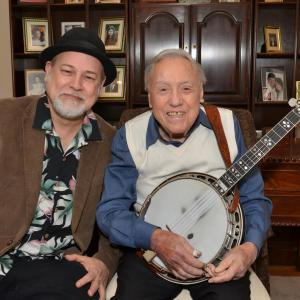 Dave with Earl Scruggs at his 88th Birthday party and jam. An incredible humble and classy man who loved his family and was a true musical revolutionary.