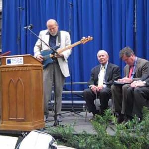 """Embedded thumbnail for Dave Pomeroy plays """"Not Forgotten"""" at the 2010 Room In The Inn groundbreaking"""